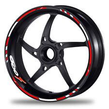 FELGENRANDAUFKLEBER passend für Honda CBR 600 F Moto GP Style Felgenaufkleber