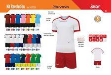 Completi Calcio Calcetto Volley GIVOVA Mod. KIT REVOLUTION (Maglia + Pant.) Mute
