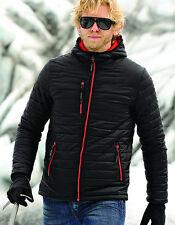 Winterjacke für Herren Steppjacke wasserbeständig mit Kapuze S - 3XL Stormtech