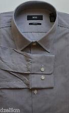NWT Hugo Boss Black Label by Hugo Boss Sharp Fit Stripe Dress Shirt