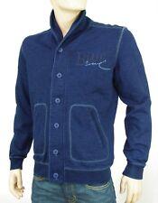 Gilet Cardigan Sweat PEPE JEANS homme bleu indigo BARHAM PM581092 coloris 561