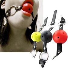 Sexy Brand NEW O-Ring Gag BDSM Bondage Toy Irritative Mistreat Tool Mouth Plug