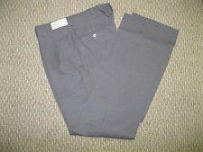 JHL Mens Gray Dress Pants Flat Front Unhemmed 30 32 34 36 38 40 42 46  X 36 NEW