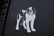 Saint Bernard Dog Vinyl Sticker Decal (V177) Choose Size and Color ! St. Bernard
