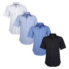 Kurzarmhemd Herren Hemd Freizeithemd Kentkragen Shirts in Übergrößen bis 6XL