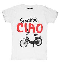 New T-Shirt Fiammata Uomo Vabbe Ciao Idea Regalo