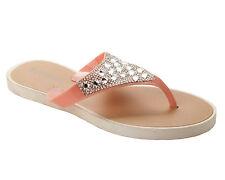 Vestido de Noche para Mujer Rosa Diamante Verano Playa Sandalias señoras UK Size 3-8