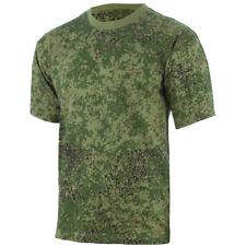 MFH T-Shirt Homme Airsoft Militaire Tactique Armée Combat Coton Digital Flora