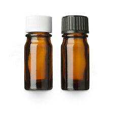 10x Braunglasflasche mit Schraubverschluss ☆ Medizinflasche ☆ Glasbehälter