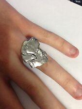 A4 Labrador's Head Peltro Inglese, anello donna regolabile handmade in Sheffield