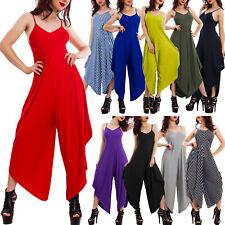 Overall donna tuta intera pantaloni harem copricostume pantaloni basic VB-0787