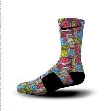 Custom Nike Elite Socks All Sizes MONSTER MASH