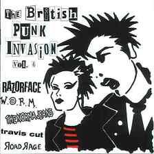 The British Punkinvasion Vol. 4 CD NEU PUNK PUR