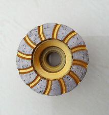 Diamant Schleiftopf 50 mm Turbo M 14 - Schleifteller Winkelschleifer