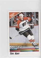 1989-90 Panini Album Stickers #120 Tim Kerr Philadelphia Flyers Hockey Card