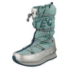 LADIES HI TEC REEF/SILVER/DOLPHIN WATERPROOF WINTER BOOTS  STYLE - NEW MOON