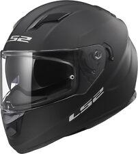 LS2 FF320 STREAM EVO MATT BLACK  DUAL VISOR PINLOCK FULL FACE MOTORCYCLE  HELMET