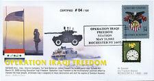 """IK03US5T1 FDC USA """"Opération IRAQ1 FREEDOM - US Marine"""""""