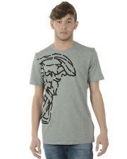 T-shirt Maglietta Versace Collection 40% Uomo Grigio V800683SVJ00359-V7652