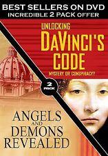 Unlocking Da Vinci's Code/Angels and Demons Revealed - 2 Pack (DVD, 2005,...