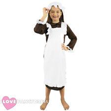 Chicas Victoriano Traje Niño Pobre histórico Fancy Dress currículo escolar