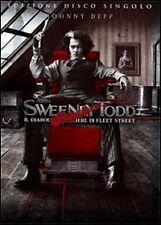 J.Depp SWEENEYTODD il diabolico barbiere di fleet street   nuovo sigillato  DVD