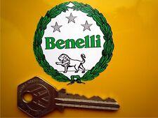 Benelli Verde Garland Italiano Motocicleta Moto Adhesivo