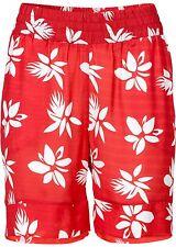 Rainbow donna shorts bermuda pantaloni corti fiori-PATTERN ROSSO 912931.