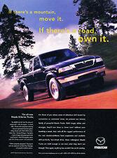 1998 Mazda B-Series Trucks - Mountain - Classic Vintage Advertisement Ad D35