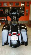 Stretched Extended Saddlebag Bottoms Color-Matched Fit Harley 14-17 Road Street