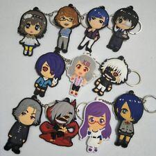 1pcs Japanese Anime Tokyo Ghoul Keychain PVC Keyring Fashion Pendant Key Chain