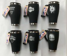 Thermal Insulated Coffee Mug / Travel Flask - Official NBA Basketball 450mL