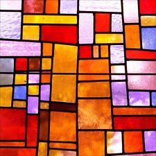 Pegatinas de pared decoración : Ventanas de cristal manchadas 1231