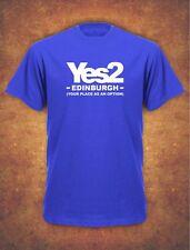 Personalised Yes 2 Scotland Referendum Scottish 2018 Mens T-Shirt Royal
