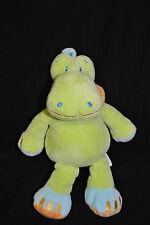 Peluche Doudou Dragon Crocodile KIABI Hippopotame Vert Bleu Orange Jaune Nicotoy