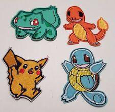 Pokemon Iron On Patch Embroidered Sew on Iron On Transfer Fancy Dress Pokemon Go