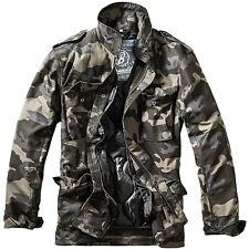 Brandit M-65 Standard Jacket Patrol Military Mens Coat Tactical Parka Dark Camo