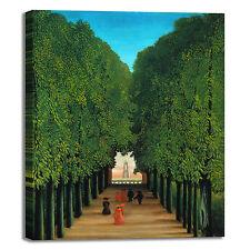 Rousseau il viale design quadro stampa tela dipinto telaio arredo casa