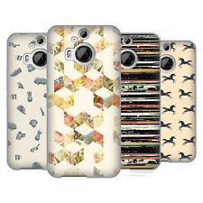 OFFICIAL FLORENT BODART PATTERNS 3 SOFT GEL CASE FOR HTC PHONES 2