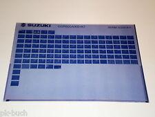 Microfiche Catalogo ricambi Suzuki GSR 600 Stand 2007