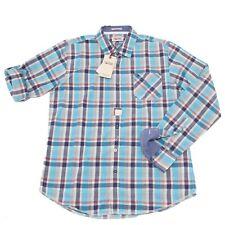 0073P camicia uomo HILFIGER DENIM manica lunga shirt men long sleeve