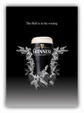 Guinness Hell Logo Car Bumper Sticker Decal - 3'' or 5''