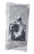 Adidas Men 3 Stripe Performance 1 Pairs Socks Gray Tennis GYM Ankle Sock AA2302