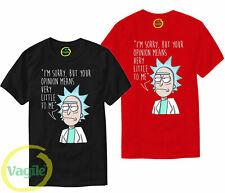 Rick and Morty T Shirt Pickle Rick Opinion Funny Joke Anime Birthday Gift Top