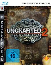 UNCHARTED 2 Steelbook Version PS3 alles in Englisch neuwertig CD kleine Kratzer