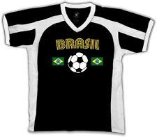 Brasil Brazil Country Flag Soccer Football Pentacampeões  Retro Sport T-shirt
