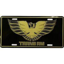 trans am pontiac car gm fast race car pace smokey bandit tag license plate chevy