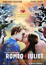 """""""Romeo & Juliet"""" ..Leonardo DiCaprio Classic Movie Poster A1A2A3A4Sizes"""