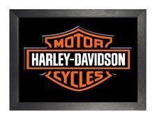 Motos Harley Davidson 6 Foto Imagen Cartel De Bicicleta De Ruta 66 HD Americano