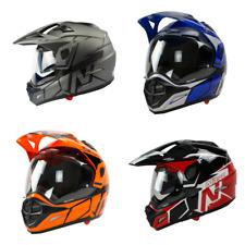 Nitro MX670 Podium Dual Sport Motorbike Motorcycle Helmet - All Colours